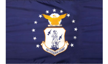3'x5' Air Force Nat Guard Indoor Flag