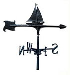 Aluminum Sailboat Weathervane