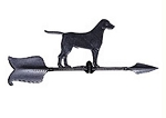 Aluminum Retriever Weathervane