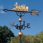 Locomotive Weathervane