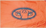 Auburn University Applique Flag 3'x5'