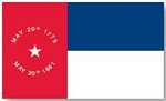 North Carolina State Flag 1861 CSA