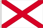 3'x5' Alabama Polyester Flag