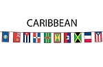 Caribbean Flag String