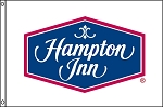 Hampton Inn 4'x6 Flag