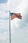 20' High Wind Aluminum Flagpole