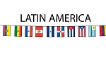 Latin America Flag String