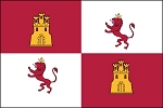 2'x3' Lions And Castles Flag