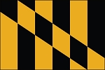 3'x5' Lord Baltimore Flag