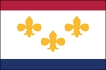 Louisiana City Flags