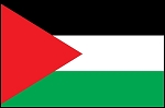 3'x5' Imported Palestine Flag