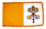 3'x5' Indoor Papal Nylon Flag