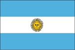3'x5' Imported Argentina Flag