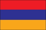 3'x5' Imported Armenia Flag