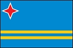3'x5' Imported Aruba Flag