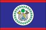 3'x5' Imported Belize Flag