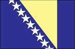 3'x5' Imported Bosnia Flag