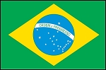 3'x5' Imported Brazil Flag