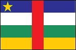 2'x3' Central African Republic Flag