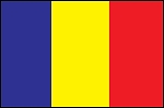 3'x5' Imported Chad Flag