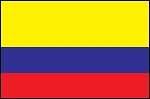 3'x5' Imported Colombia Flag
