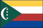 3'x5' Imported Comoros Flag