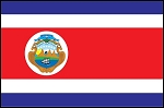 3'x5' Imported Costa Rica Flag