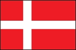 3'x5' Imported Denmark Flag