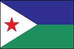 3'x5' Imported Djibouti Flag