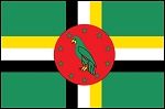 3'x5' Imported Dominica Flag