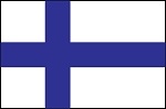 3'x5' Imported Finland Flag