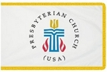 3'x5' Presbyterian Indoor Flag