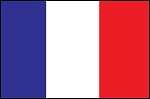 3'x5' Imported France Flag