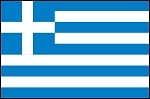 3'x5' Imported Greece Flag