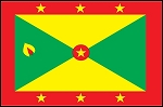 3'x5' Imported Grenada Flag
