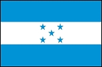 3'x5' Imported Honduras Flag