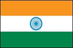 3'x5' Imported India Flag