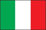 3'x5' Imported Italy Flag