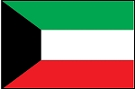 3'x5' Imported Kuwait Flag