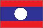 3'x5' Imported Laos Flag