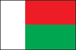 3'x5' Imported Madagascar Flag