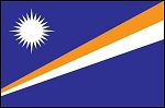 3'x5' Imported Marshall Islands Flag