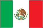 3'x5' Imported Mexico Flag