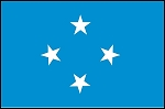 3'x5' Imported Micronesia Flag