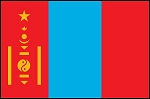 3'x5' Imported Mongolia Flag