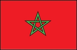 3'x5' Imported Morocco Flag