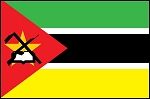 3'x5' Imported Mozambique Flag