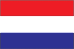 3'x5' Imported Netherlands Flag