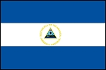 3'x5' Imported Nicaragua Flag