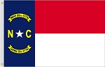 2'x3' North Carolina Nylon Flag